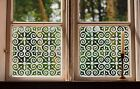 Etched Glass Window Film FROSTED EFFECT floral decorative
