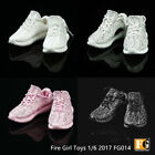 HOT FIGURE TOYS Fire Girl Toys 1/6 FG014 fashion Sports casual shoes 4 color