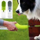 400ML Portable Pet Dog Cat Outdoor Outgoing Drink Drinking Bottle w/Filter 2017