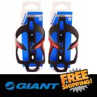 GIANT Proway Water Bottle Cage - Black & Neon(Fluo)Red