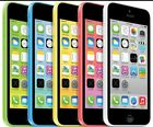 "Apple iPhone 5C-8GB 16GB 32GB GSM ""AT&T Only"" Smartphone Cell Phone c"