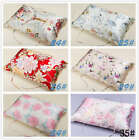 New 100% Floral Silk Pillow Towel  Pillow Cover PIllowcase Queen Standard King