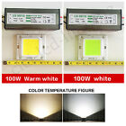 2X100W LED SMD Chip Bulbs + LED Driver Transformer Power Supply IP65 Floodlight