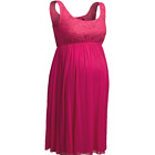 ROCK-A-BYE ROSIE MADISON CORAL WEDDING PARTY MATERNITY DRESS. RRP £55
