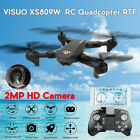 VISUO XS809HW WIFI FPV 0.3MP/2MP Camera Foldable Arm High Hold RC Quadcopter RTF