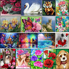 DIY 5D Diamond Painting Embroidery Flower Animals Cross Crafts Stitch Kit Gift