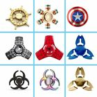 NEW captain Metal Triangle Fidget hand spinner spin EDC Focus ADHD stress relief