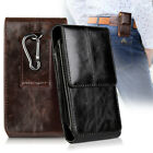 Vertical Genuine Leather Case Cover Pouch Holster Belt Clip For iPhone 8 7  Plus