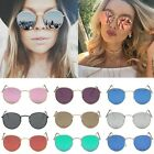 New Fashion Women Aviator Mirror Lens Steampunk Sunglasses Glasses Vintage Retro