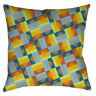 """SUNSPOTS Throw Pillow or Cover 14"""" 16"""" or 18"""" Retro OpArt Geometric Sun Summer"""