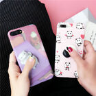 Squishy Panda weich Silikon 3D Case Cover Hülle Schutz Etui For iPhone 6s 7 Plus