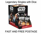 Star Wars Destiny TCG - Awakenings - Legendary Card Singles with Dice
