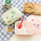 Microwave Bento Lunch Box with Soup Bowl & Spoon Food Container Office