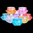 10PCS Cosmetic New Container Face Cream Makeup Eyeshadow Empty Jar Pot Clear