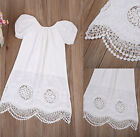 Summer Toddler Kids Baby Girls Dress Casual  Short Sleeve Dresses Clothes 0-4Y