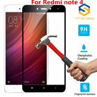 9H+ Full Covered 3D Tempered Glass Screen Protector For Xiaomi Redmi Note 4 / 4X