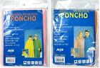 Adult Childrens Emergency Waterproof Rain Poncho Hooded Music Concert Festival