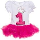 Silver Lilly Baby Girls Birthday Tutu Dress Outfit