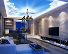 3D Cloudly Sky 3 Ceiling WallPaper Murals Wall Print Decal Deco AJ WALLPAPER