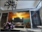 3D Sea Sunset Hill 248 WallPaper Murals Wall Print Decal Wall Deco AJ WALLPAPER