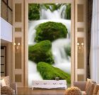 3D Falls Moss 672 WallPaper Murals Wall Print Decal Wall Deco AJ WALLPAPER