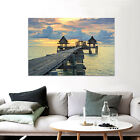 3D The horizon, the sea Wall Stickers Vinyl Wall Murals Print Decal AJSTORE US