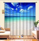 3D Blue Sky 0426 Blockout Photo Curtain Print Curtains Drapes Fabric Window UK