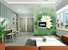 3D Lotus Classical 14 Wall Paper Murals Wall Print Decal Wall Deco AJ WALLPAPER