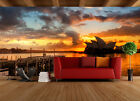 3D City reflection 459 WallPaper Murals Wall Print Decal Wall Deco AJ WALLPAPER