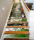 3D Falls Animal 04 Stairs Risers Decoration Photo Mural Vinyl Decal Wallpaper US