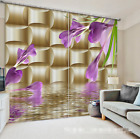 3D Trumpet 0151Blockout Photo Curtain Printing Curtain Drapes Fabric Window UK
