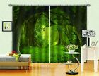 3D Forest Lush0450 Blockout Photo Curtain Print Curtains Drapes Fabric Window UK