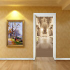3D Pretty Palace 5 Door Wall Mural Photo Wall Sticker Decal Wall AJ WALLPAPER AU
