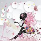 3D Butterfly Girl 97 Wall Paper Wall Print Decal Wall Deco Indoor AJ Wall Paper
