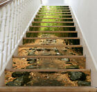 3D Bamboo Forest 46 Stair Risers Decoration Photo Mural Vinyl Decal Wallpaper UK
