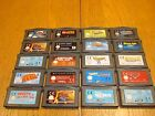 Nintendo GBA Games - 20 x GAME BUNDLE- Select From List