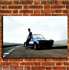FAST N FURIOUS WALKER COOL CANVAS WALL ART BOX PRINT PICTURE SMALL/MEDIUM/LARGE