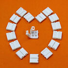 Solderless Clip-on Coupler Connector 2/4pin RGB for 3528 5050 LED Strip Light US