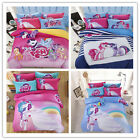 my little pony duvet cover - 4pc Queen King My Little Pony Cotton Bedding Duvet Cover Bed Sheet Pillowcase