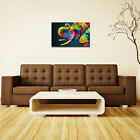 Modern Abstract Canvas Painting Picture Wall Mural Hanging Home Decor Unframed