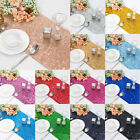 "10pcs Silver Gold Glitter Sequin Table Runner 12""x108"" Sparkly Wedding Party UK"