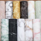 16ft Marble Grey Contact Wallpaper Paper Peel Stick Self Adhesive Wall Covering $15.62 USD