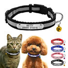 Soft Nylon Custom Dog Collars Personalized Name Phone Engrave Collar with Bell