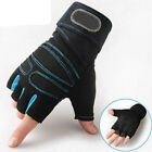 Weight lifting Gym Gloves Training Fitness Wrist Wrap Workout Exercise Sports GF