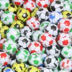 CHOCOLATE FLAVOUR FOOTBALLS MIXED WRAPPERS 40 OR 80 SWEETS