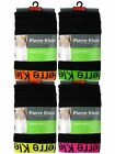 3 Mens Pierre Klein Cotton Boxer Shorts Trunks Underwear / Neon / All Sizes