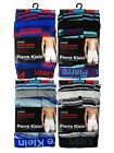 12 Mens Pierre Klein Cotton Boxer Shorts Trunks Underwear / Stripes / All Sizes