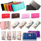 Women Lady Leather Clutch Wallet Long PU Card Holder Purse Handbag Bag Fashion