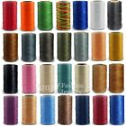 150D/1mm Flat Waxed Thread Jewelry Cloth String 50/ 260Meters Spool Leather cord