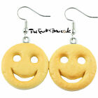 TFB - SMILEY POTATO FACE DANGLE EARRINGS QUIRKY NOVELTY GIRLS GIFT FUNKY FOOD UK